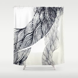 Windy Shower Curtain