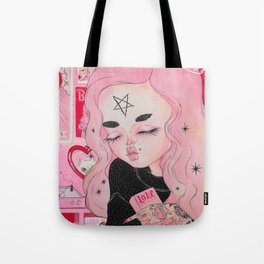 Our Lady of Broken Hearts Tote Bag