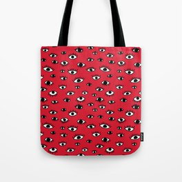 Shifty Eyes Tote Bag