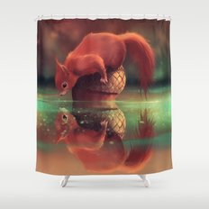 What do you wanna ?  Shower Curtain