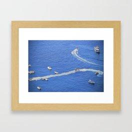 Amalfi coast, Italy 3 Framed Art Print