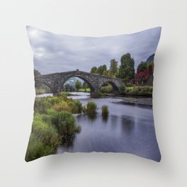 Autumn Cottage Throw Pillow
