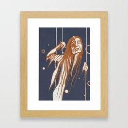 Butoh Hag Framed Art Print
