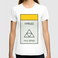 hyrule T-shirts featuring Hyrule Monopoly location by HuckBlade