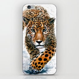 Leopard Wild and Free iPhone Skin