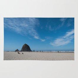 Haystack Rock, Cannon Beach Rug