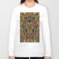 hippy Long Sleeve T-shirts featuring Hippy by RingWaveArt