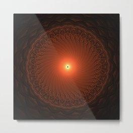 Mini Eclipse Metal Print