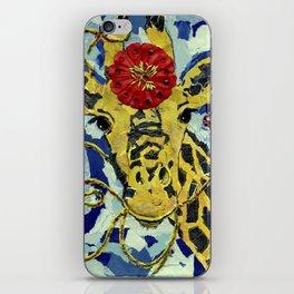 Ezmerelda The Giraffe iPhone Skin