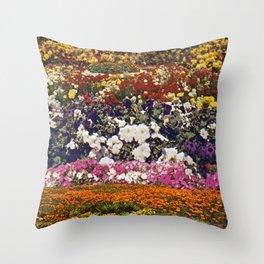 Some neighbourhood called flower Throw Pillow