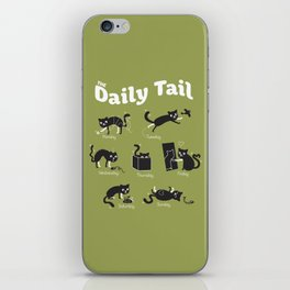 The Daily Tail Cat iPhone Skin