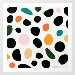 colorful blob pattern | elliott bryan | Art Print
