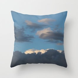 outside · sky  Throw Pillow