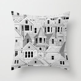 Vancouver Heritage Throw Pillow