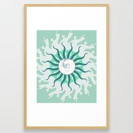 Del Mar, Of the Sea Framed Art Print