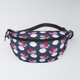 Cute white beetroots Fanny Pack