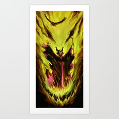 Maleficent Art Print