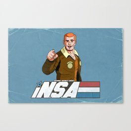 iN.S.A - iNternet Security Agency Canvas Print