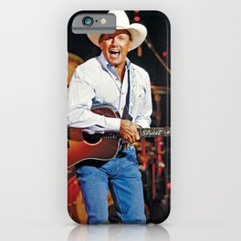 CMA-Entertainer-George-Strait iPhone Case