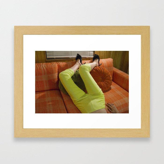 Mod Framed Art Print