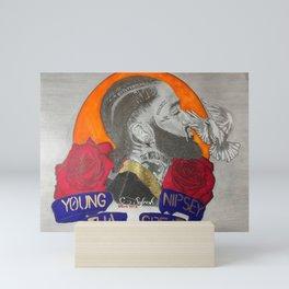 Young Nipsey The Great Mini Art Print
