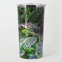 Greens and Yellows Garden Travel Mug
