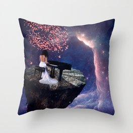 """Into The Void""  Throw Pillow"