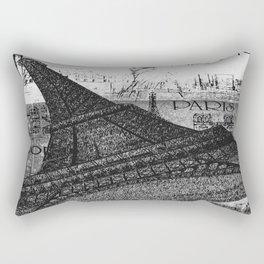 Only in Paris Rectangular Pillow