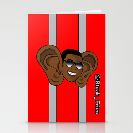 Steak Fries Stationery Cards