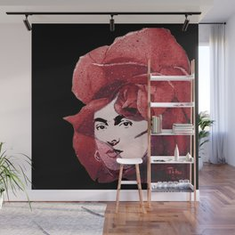 FRIDA the ROSE Wall Mural