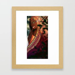 Liloe Smile Framed Art Print