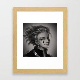 Hunter x Hunter Hisoka Framed Art Print