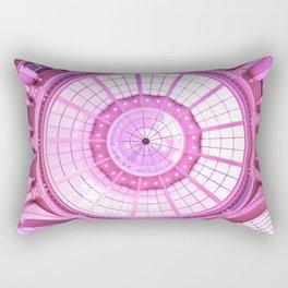 Pink Architecture Monument Rectangular Pillow