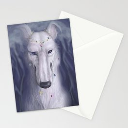smaller than a stone Stationery Cards
