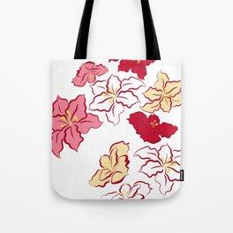 Poinsettia - 4 colors Tote Bag