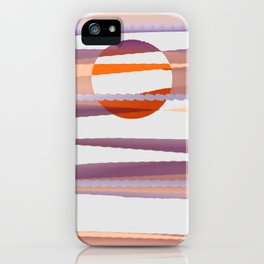 Abstract transparencies iPhone Case