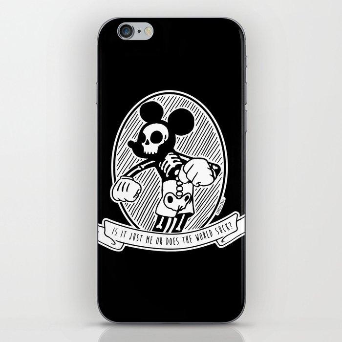 86937404d94f4 Alternative Punk Mickey Mouse Tattoo Art iPhone Skin by zombiecraig ...