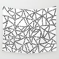 dots Wall Tapestries featuring Dots by Project M