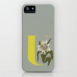 U for Urn Plant iPhone Case