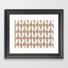 Circus Birdcages Framed Art Print