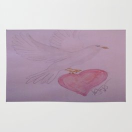 Your Lovebird's Flying Away. Rug