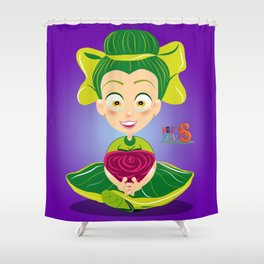 Mariette/Character & Art Toy design for fun Shower Curtain