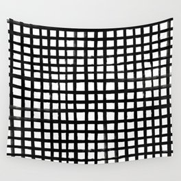 Hand-painted Grid Wall Tapestry