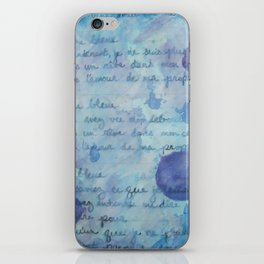 Lune Bleue No. 2 iPhone Skin