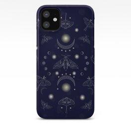 Moonlit Moths iPhone Case
