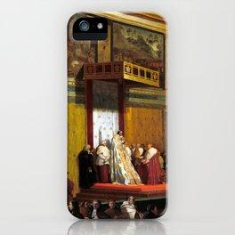 Jean-Auguste-Dominique Ingres Pope Pius VII in the Sistine Chapel iPhone Case