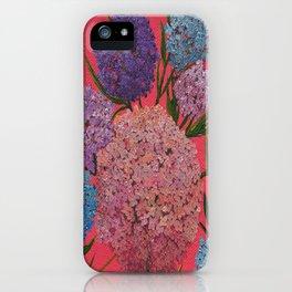 Hydrangea Blast iPhone Case