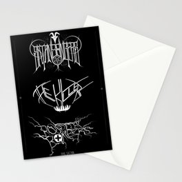 The Best Ever Death Metal Bands Out Of Denton Stationery Cards