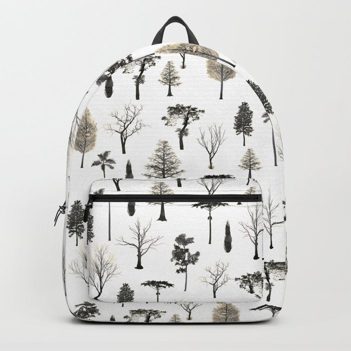 trees pattern Backpack
