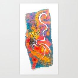 RUMI I Art Print